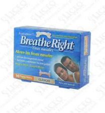 BREATHE RIGHT TIRA NASAL COLOR T- PEQ-MED 30 U