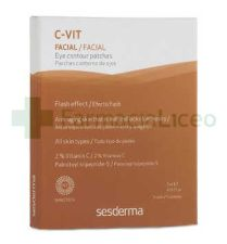 C-VIT PARCHES CONTORNO OJOS 4 ML 5 U