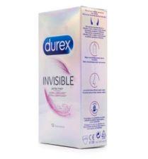 DUREX INVISIBLE EXTRA FINO EXTRA LUBRICADO PRESE
