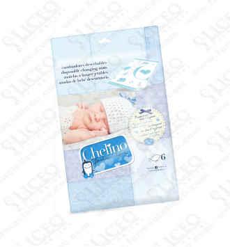 CAMBIADOR INFANTIL DESECHABLE CHELINO FASHION & LOVE 6 UNIDADES