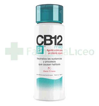 CB12 MILD MINT ENJUAGUE BUCAL 250 ML
