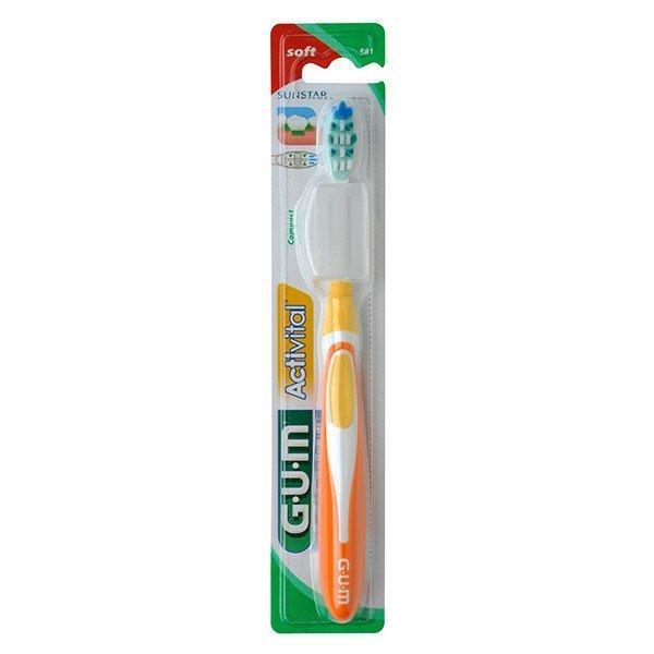 CEPILLO DENTAL ADULTO GUM 581 ACTIVITAL SUAVE