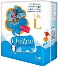 CHELINO PAÑAL BAÑADOR INFANTIL TALLA L +15 KG 11 UNIDADES