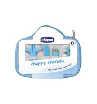 CHICCO SET HAPPY HAND AZUL
