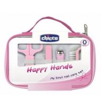 CHICCO SET HAPPY HAND ROSA