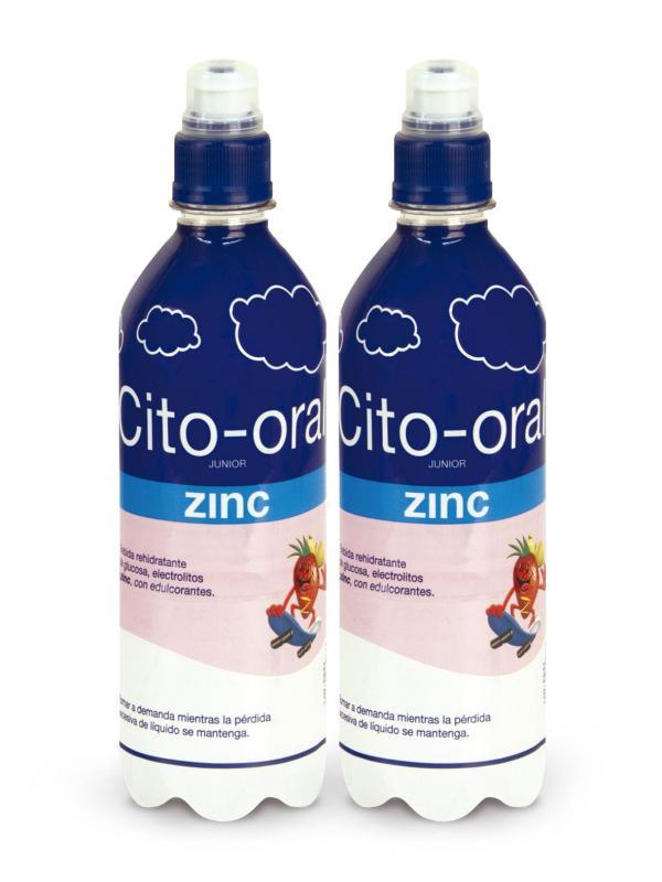 CITO-ORAL JUNIOR ZINC 500 ML 2 BOTELLAS