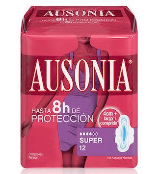 COMPRESAS AUSONIA AIRDRY  LAS SUPER 12U