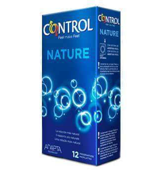 CONTROL ADAPTA NATURE PRESERVATIVOS 12 UNIDADES (COMPRANDO 2UDS TE REGALAMOS LA 3 UDS)