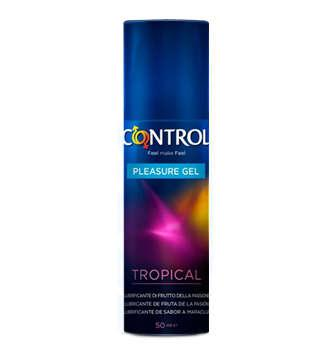 CONTROL PLEASURE GEL TROPICAL LUBRICANTE 50 ML