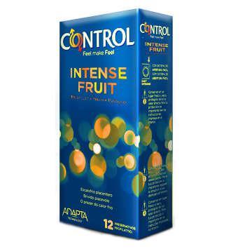 CONTROL SEX SENSES PRESERVATIVOS INTENSE FRUIT 12 UNIDADES