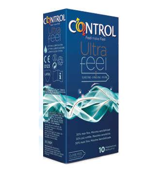 CONTROL ULTRAFEEL PRESERVATIVOS 10 U