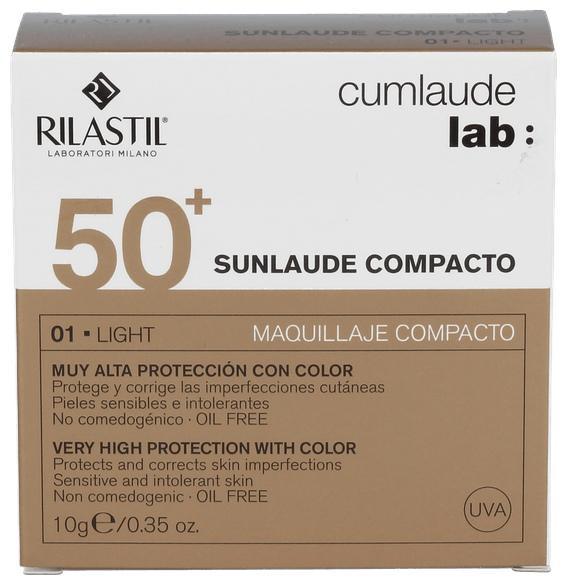 CUMLAUDE LAB: SUNLAUDE COMPACTO SPF 50+ COLOR 01 LIGHT