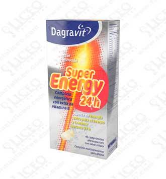 DAGRAVIT SUPER ENERGY 24 H 40 COMPRIMIDOS
