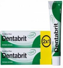 DENTABRIT FLUOR 75 ML 2 U