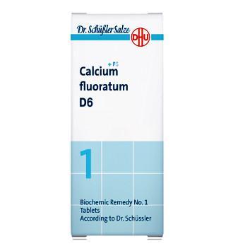 DHU CALCIUM FLUORATUM 6D SAL DE SCHUESSLER Nº1