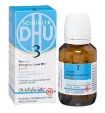 DHU FERRUM PHOSPHORICUM 6D SAL DE SCHUESSLER Nº3