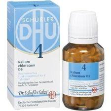 DHU KALIUM CHLORATUM D6 SAL DE SCHUESSLER Nº4