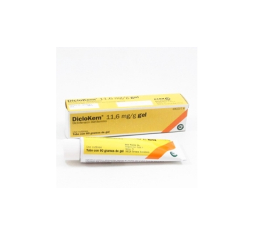 DICLOKERN 11.6 MG/G GEL TOPICO 60 G
