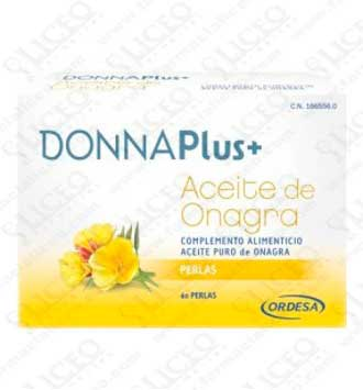 DONNA PLUS ACEITE DE ONAGRA 60 PERLAS