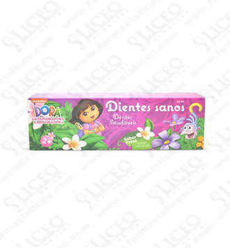 DORA LA EXPLORADORA PASTA DENTAL INFANTIL +2 50 ML