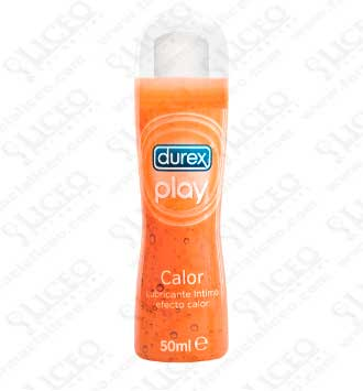 DUREX PLAY CALOR LUBRICANTE HIDROSOLUBLE ÍNTIMO