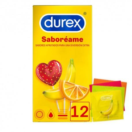 DUREX PLEASUREFRUITS PRESERVATIVOS 12 UNIDADES