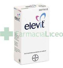 ELEVIT 30 COMPRIMIDOS RECUBIERTOS