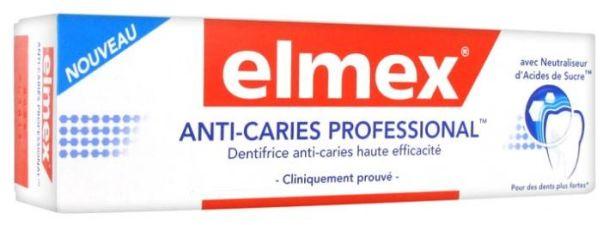 ELMEX PROTECCION CARIES PROFESIONAL 1 ENVASE 75 ML