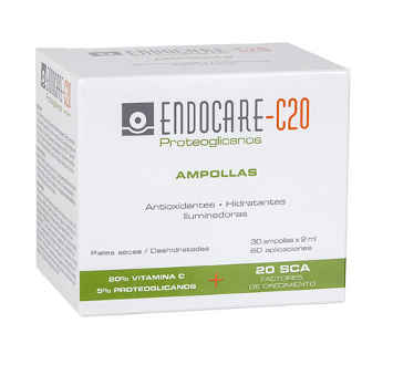 ENDOCARE 1 SECOND PROTEOGLICANOS C20 30 AMPOLLAS