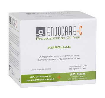 ENDOCARE C PROTEOGLICANOS AMPOLLAS OIL FREE