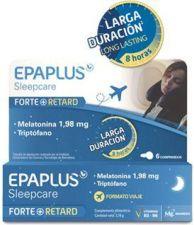 EPAPLUS SLEEPCARE FORTE + RETARD VIAJE 6 COMPRIMIDOS