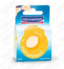 ESPARADRAPO HIPOALERGICO HANSAPLAST SOFT 5 X 2,5