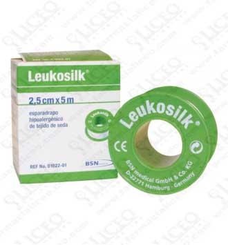 ESPARADRAPO HIPOALERGICO LEUKOSILK 5 X 2,5 CM