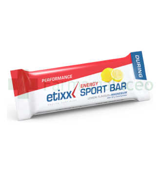 ETIXX ENERGY SPORT BAR LEMON 40 GR