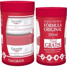 EUCERIN CREMA PIEL SENSIBLE PH-5 100 ML+ REGALO