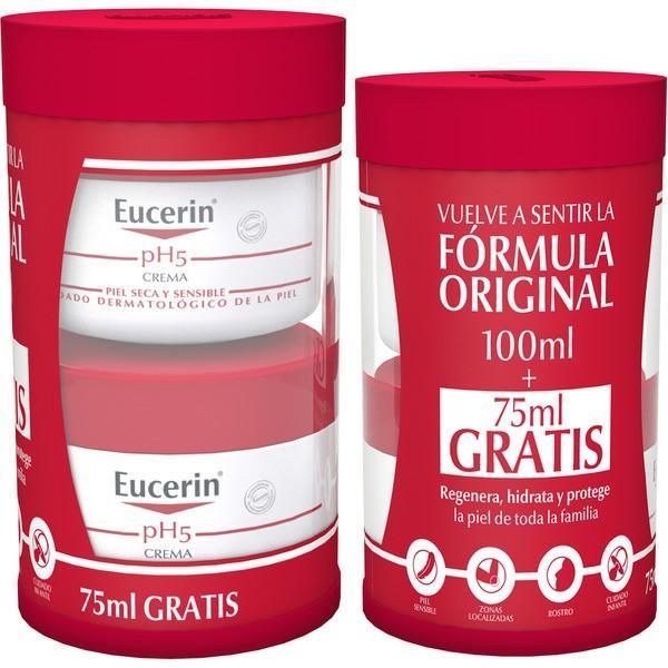 EUCERIN CREMA PIEL SENSIBLE PH-5 100 ML+ REGALO