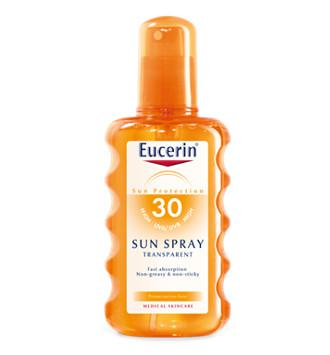 EUCERIN SUN PROTECTION 30 SUN SPRAY TRANSPARENTE 200 ML
