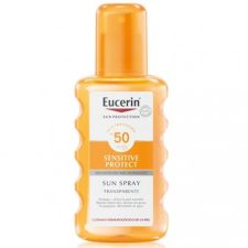 EUCERIN SUN PROTECTION 50 SPRAY TRANSPARENTE SEN