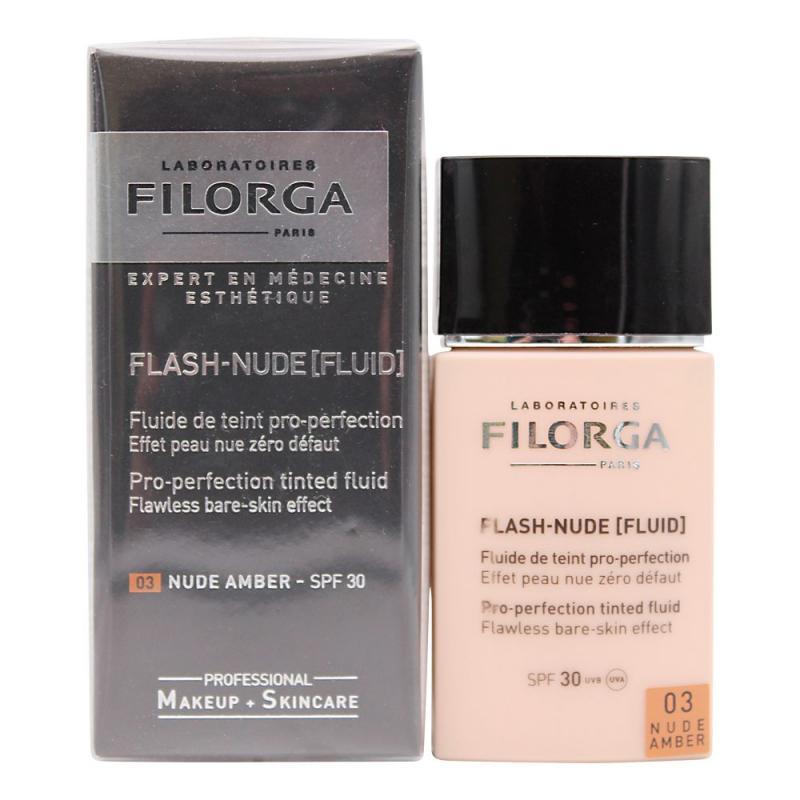 Filorga Flash Nude Fluid 03 Nude Amber Spf 30 Farmacia