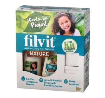 FILVIT KIT NATURE ANTIPARASITARIA LOCION + ACOND