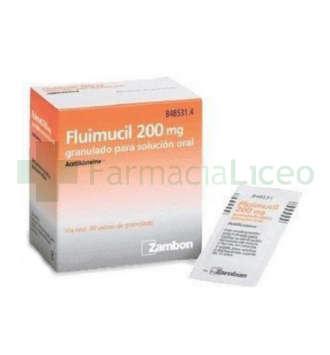 FLUMIL 200 MG 30 SOBRES GRANULADO