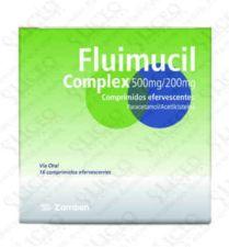 FLUIMUCIL COMPLEX 500/200 MG 16 COMPRIMIDOS EFER