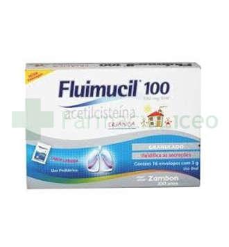 FLUMIL INFANTIL 100 MG 30 SOBRES