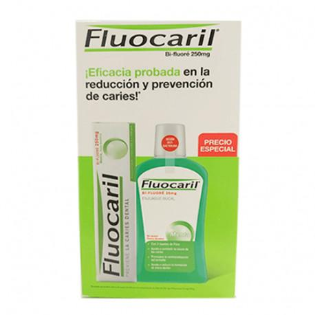FLUOCARIL PACK PASTA 125 ML + COLUTORIO500 ML