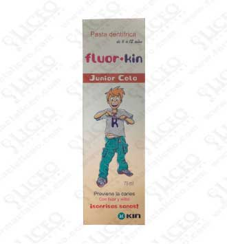 FLUOR KIN PASTA JUNIOR COLA 75 ML