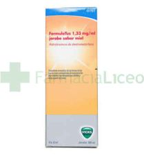 FORMULATUS 1.33 MG/ML JARABE 180 ML MIEL
