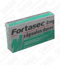 FORTASEC 2 MG 10 CAPSULAS