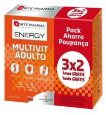 FORTE PHARMA ENERGY MULTIVIT ADULTO 84 COMP