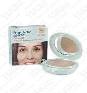 FOTOPROTECTOR ISDIN COMPACT SPF-50+ MAQUILLAJE COMPACTO ARENA
