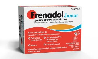 FRENADOL JUNIOR 10 SOBRES GRANULADO SOLUCION ORA